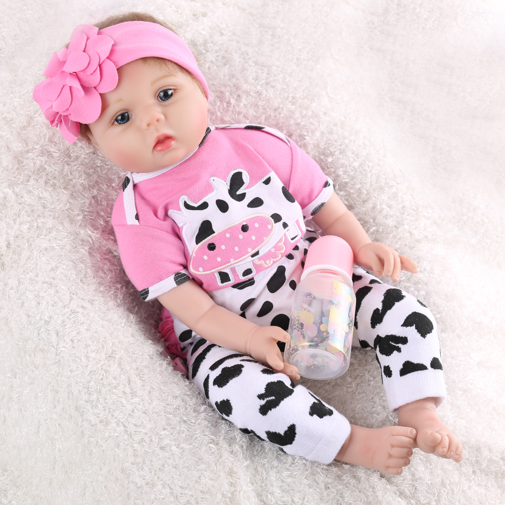 55cm Silicone Reborn Baby Dolls Baby 22inch vinyl newborn collectible Doll princess infant modeling real touch lovely Xmas gift55cm Silicone Reborn Baby Dolls Baby 22inch vinyl newborn collectible Doll princess infant modeling real touch lovely Xmas gift