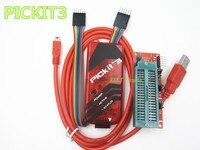 Free Shipping 1LOT 2PCS PICKIT3 Programmer PIC ICD2 PICKit 2 PICKIT 3 Programming Adapter Universal Programmer