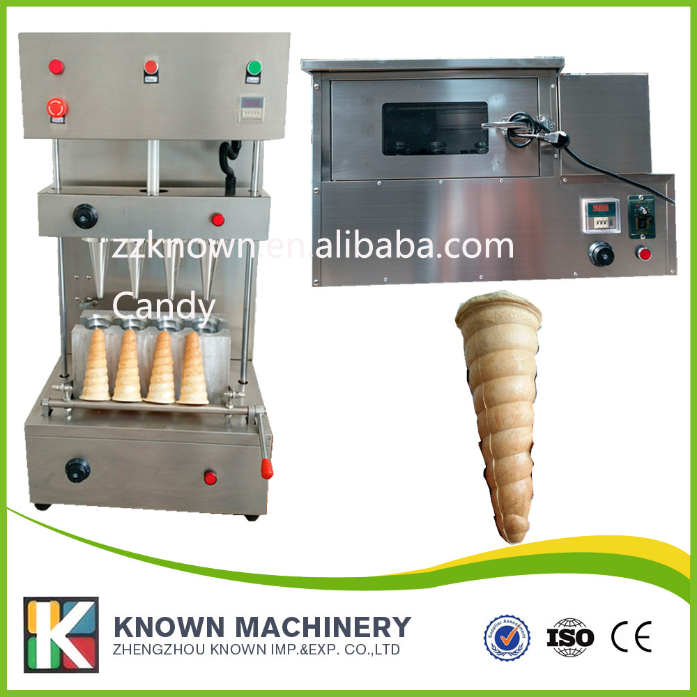 Customrised cone size of pizza machine/ pizza forming machine with big cone size commercial used easy operation kono pizza cone making machine 2400w umbrella cone pizza 110v 220v stainless steel material
