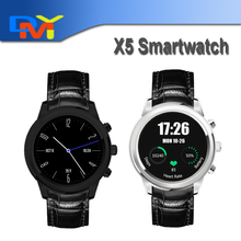 "Pulsmesser Uhr Finow X5 SmartWatch 1,4 ""Display 3G WiFi GPS Bluetooth Smart Uhr Telefon für iOS Android-Handy"