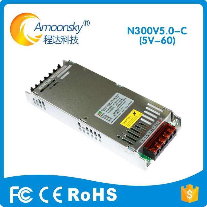 5V 60A LED Display Power Supply Genergy 200V-220V Led Screen Usage Power