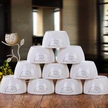 [10] with Jingdezhen ceramic tableware bowl of rice bone 4.5 inches square