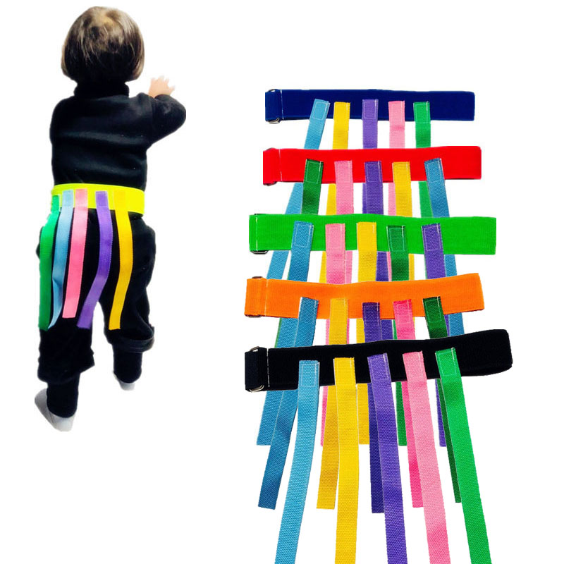 Children Outdoor Funny Game Toy Belt For Kindergarten Kids Catching Tail Training Equipment Teamwork Game Toys For Children