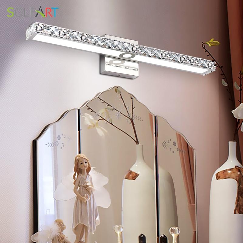 banheiro led vaidade luzes gabinete maquiagem espelho 02