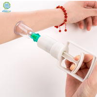 KONGDY Brand Vacuum Cupping Set 6 Pieces Relaxation Cans Monitors Opener Pull Vacuum Cupping Massage Portable