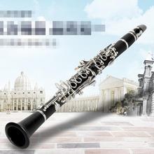 Eb маленький Кларнет бакелит черная трубка для начинающих профессиональный осмотр игры Музыкальные инструменты
