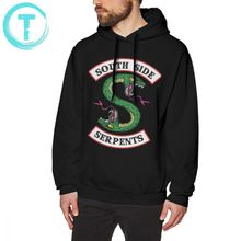Riverdale Hoodie Southside Serpents Hoodies Streetwear Cotton Pullover Grey X Long Male Winter Casual