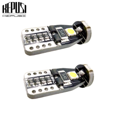 2pcs T10 3 SMD 3030 LED Auto Clearance Lights W5W 194 168 192 3SMD LED Car Door Light Reading Lamps Dome Bulbs Canbus No Error aslent 4pcs t10 w5w 194 led 3030smd car light bulbs auto lamp car door light turn reading lights ice blue white red yellow 12v