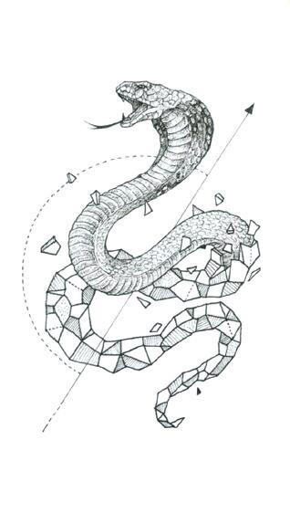 Snake Tattoo Artwork
