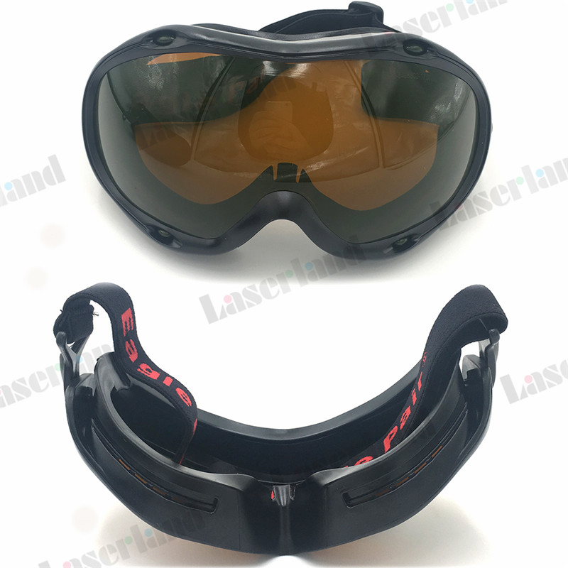 190nm-540nm Blue Green 800nm-1700nm IR YAGLaser Protective Glasses CE OD5+ ce ep 1a 190 540