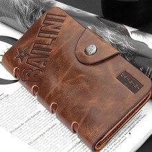 Heißer Verkauf Haspe Klassischen Vintage Brieftasche Mode Männlichen Langen Design Antike Männer Brieftaschen Mit Kartenhalter Geldbörsen Carteira Masculina