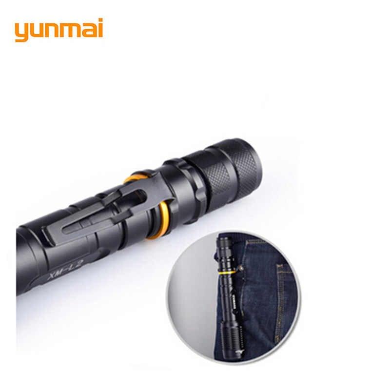 XM-L2 жесткий Мощность масштабируемый Фонарик светодиодный 5-режимный самообороны факел Применение 18650 Батарея зум прожектор велосипед прожектор для рыбалки