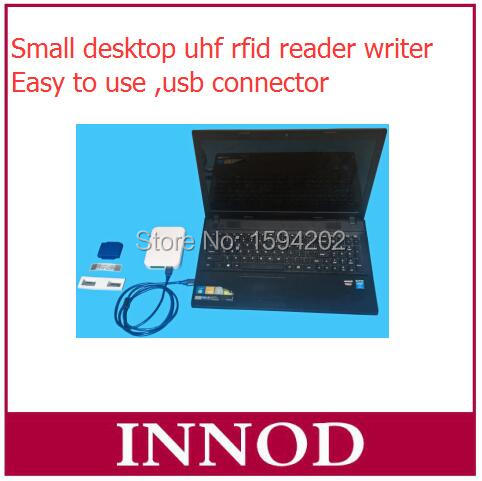 Genteel Small Rfid Reader Writer Range 0-80cm Desktop Usb Uhf Rfid Epc Gen 2 Tag Reader For Reading And Writing Programing Tag Id Security & Protection Access Control Cards
