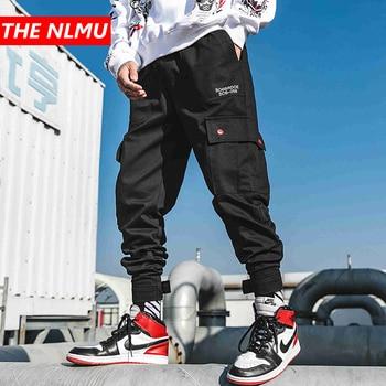 e5032314017fc 2019 Mens Hip Hop Pantalones de bolsillos Vintage camuflaje Tatical bragas  de los hombres Streetwear Pantalones Casual pantalones Harem pantalones  militares ...