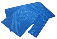 MADE IN JAPAN KAI CB-2 Pvc Rectangle Grid Lines Self Healing Cutting Mat Tool Fabric Leather Paper Craft DIY tools 45cm * 60CM