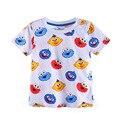 2017 Hot Marca Meninos camiseta Meninos Roupas Crianças Tops Designer Meninos da criança Do Bebê T Camisas de Algodão de Manga Curta Crianças Tops T