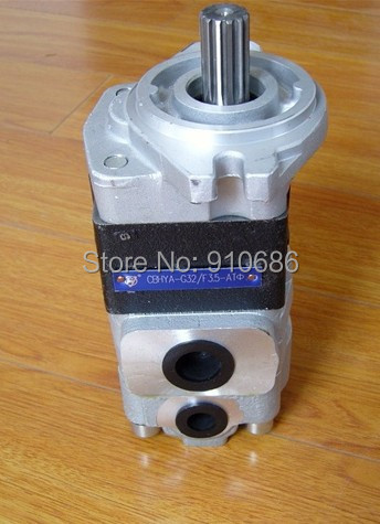 Duplex gear pump hydraulic oil pump CBHY-G32-3.5AT high pressure автосигнализация kgb g 5 duplex dialog