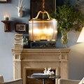 Подвесной светильник в стиле кантри для столовой  гостиной  спальни