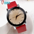 Excellent Quality Fashion Wristwatch Fashionable Unique Leather Watchband Watch Women Quartz Dress Watches For Christmas Gift