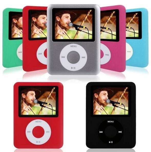"Deporte MP3 100% Incorporado 4G de Memoria Real (Virtual 32G) 1.8 ""LCD Media Video Movie Game FM Radio HD Reproductor de MP3 E-book, Visor de Fotos"