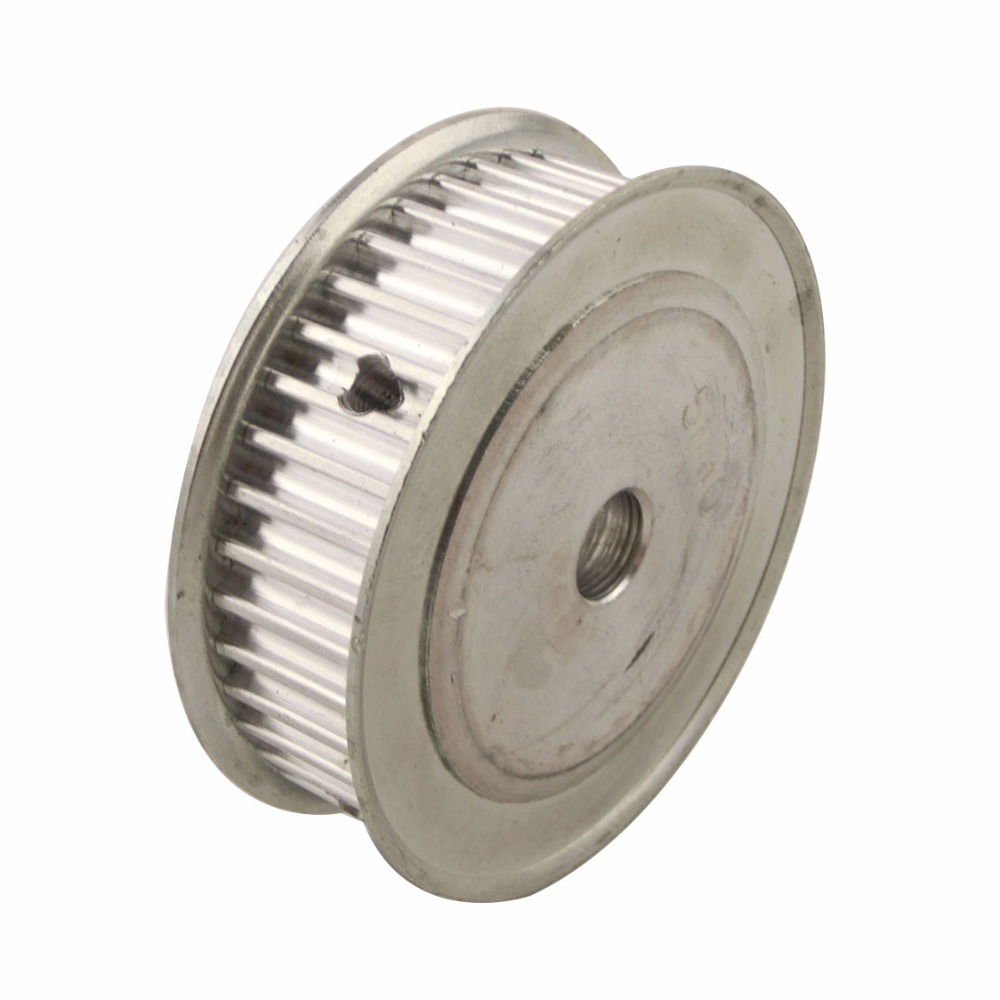 Aluminum Alloy 5M Type 60T Timing Pulley 10mm Inner Bore 60 Teeth 5mm Pitch 16mm Belt Width Synchronous Belt Pulleys
