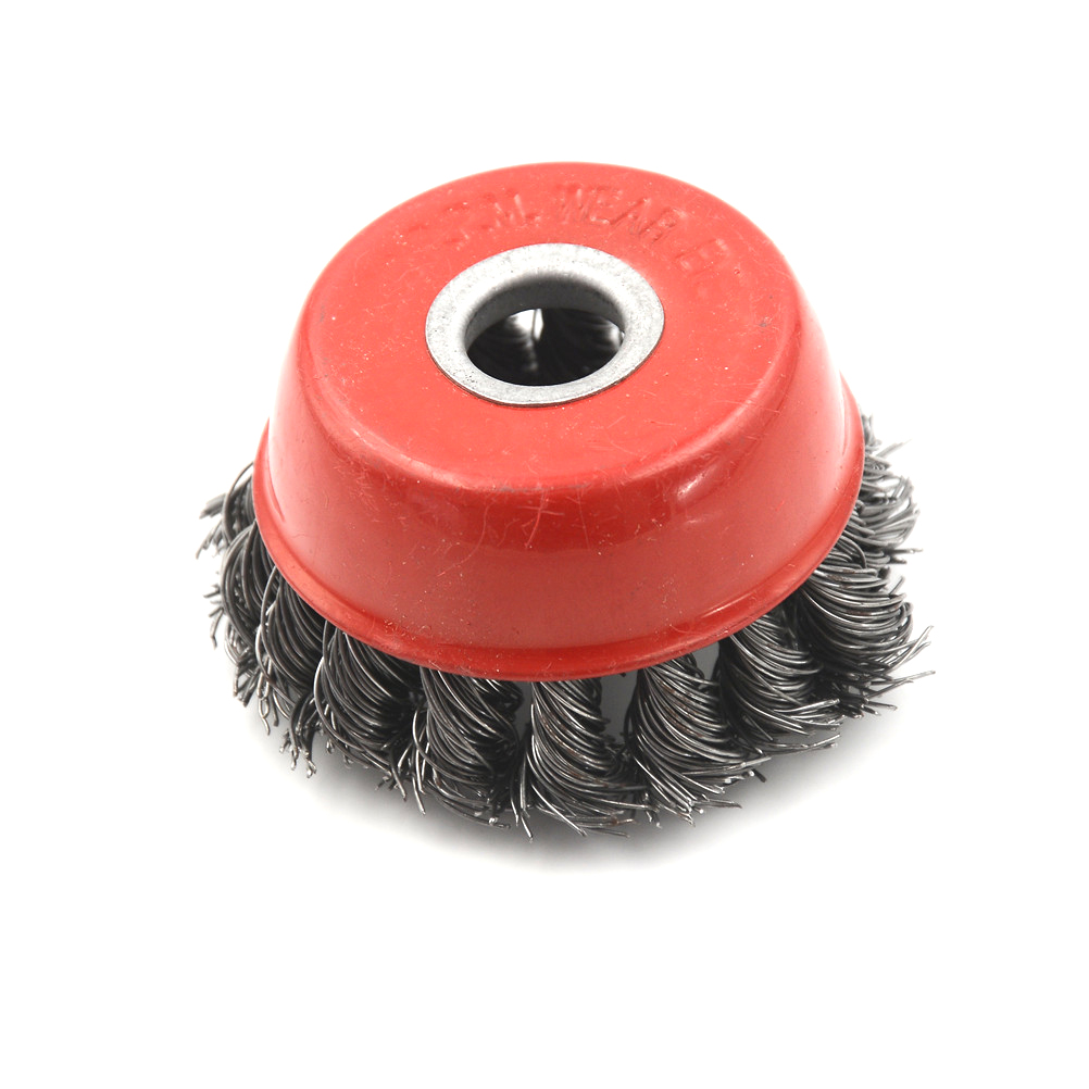 75mm 3 Quot Rotary Steel Wire Brush Steel Wire Wheel Knotted