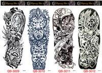 Fiore Uccello Decal 1 pz Falso Donne Uomini FAI DA TE Hennè Body Art Tattoo Design