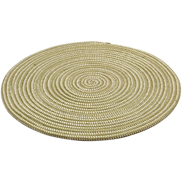 Solid Color Round Carpets Hand Knotted Area Rugs Nordic Brown Green