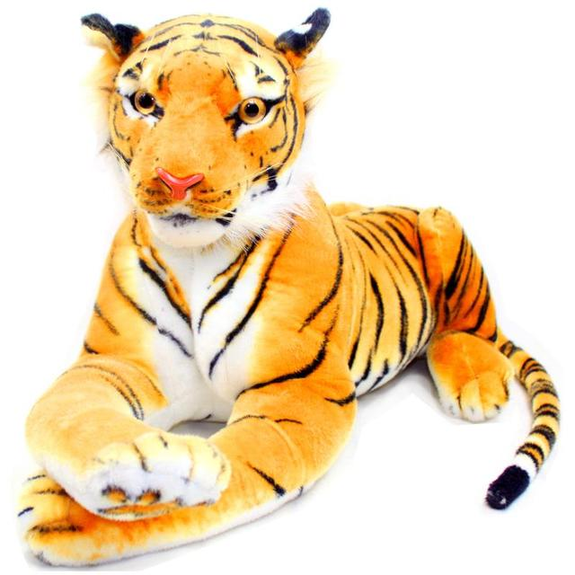 Pernycess Authentic Simulation Tiger 5 47cm Plush Giant Tiger Toy