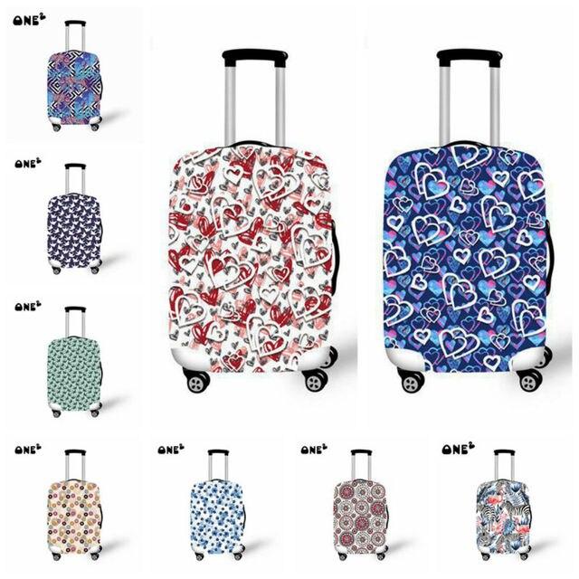 2015 nova viagem mala de bagagem carrinho de capa protetora capas amar amor estiramento aplicam-se de 18 a 32 polegada casos capa