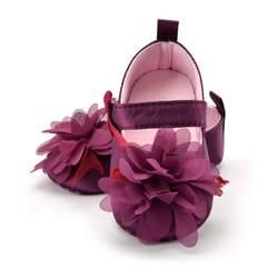زهرة الربيع/الخريف الرضع حذاء طفل الأخفاف الوليد بنات الجوارب لحديثي الولادة 3 اللون متاح 0-18 أشهر