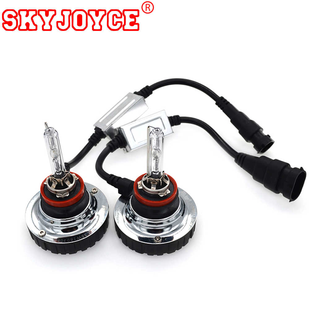 SKYJOYCE All In one xenon hid kit canbus xenon H11 4300K 6000K 8000K 5000K H11 fog lamp   motors Koleos Fluence light H8