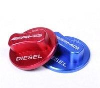 Chrome Car Fuel Tank Cover Cap Cover Trim For Mercedes Benz A B C E GLK