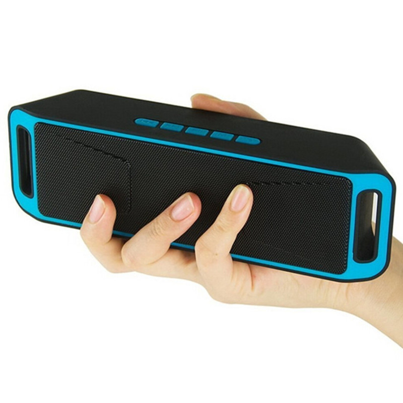 AKASOบลูทูธ4.0แบบพกพาไร้สายลำโพงTF USBวิทยุFM Dualบลูทูธลำโพงเบสเสียงลำโพงซับวูฟเฟอร์
