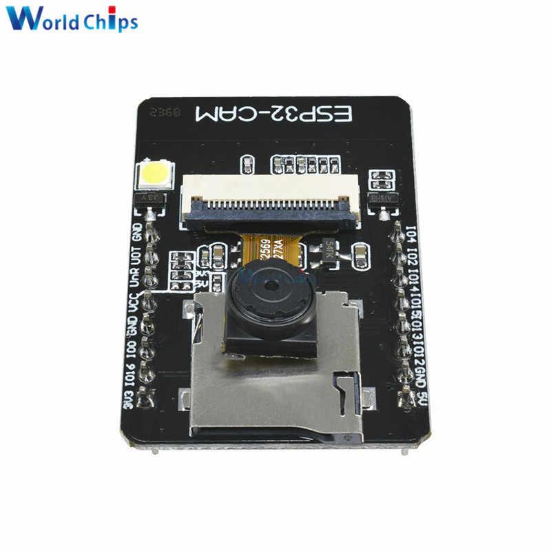 ESP32-CAM ESP32-S WIFI Bluetooth módulo Kit Dual-Core de 32 bits OV2640 2MP cámara inalámbrica módulo + IPEX antena SMA para Arduino