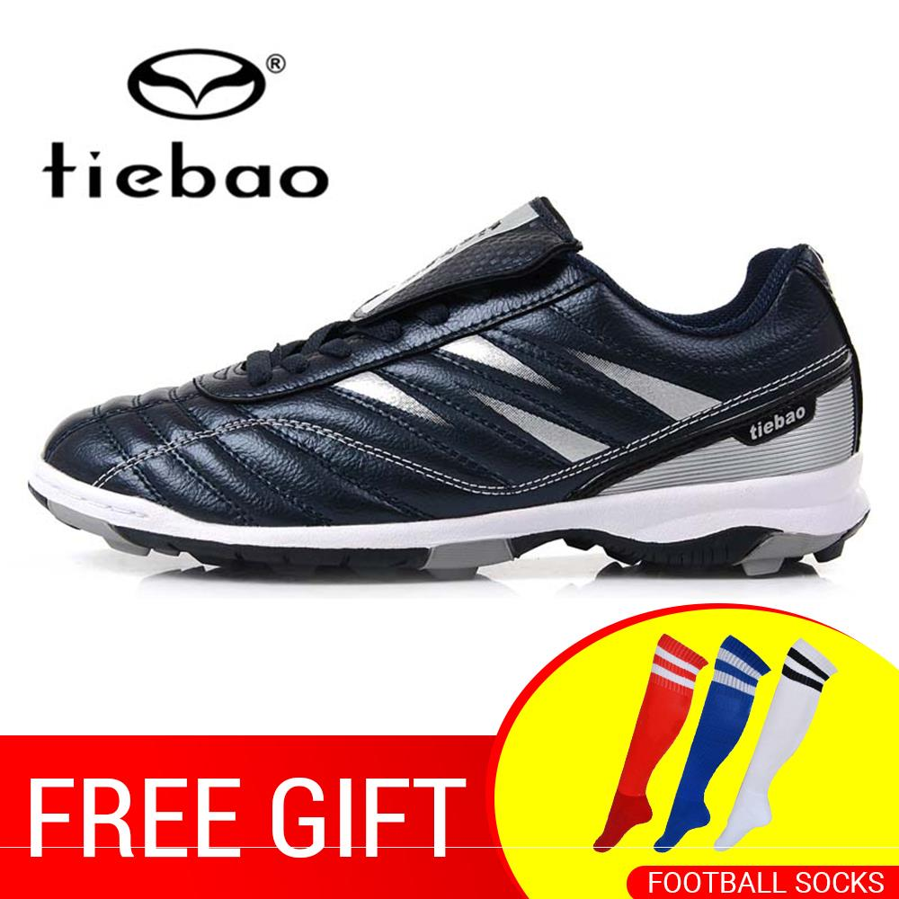 TIEBAO Professional Men Women TF Turf Rubber Soles Football Boots Outdoor Sports Training Soccer Shoes Sneakers Parent-Kid Shoes soccer shoe toddler little kid big kid synthetic leather upper rubber soles 31 44casual outdoor indoor light weight running
