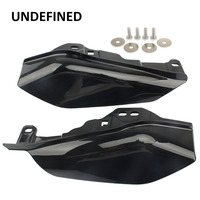 Black Motorcycle Air Heat Deflector Trim Heat Shield Cover for Harley Touring Electra Glide Street Road Glide CVO 2017 2018 up