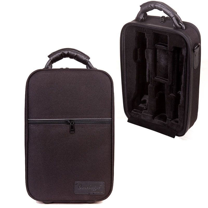 Free shipping shockproof double oboe instrument case waterproof bags moisture proof box shoulder back double oboe