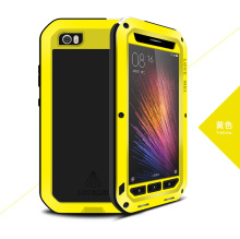 Original Love Mei Powerful Case For Xiaomi 5 M5 Mi5 Waterproof Shockproof Aluminum Case Cover + Tempered Glass