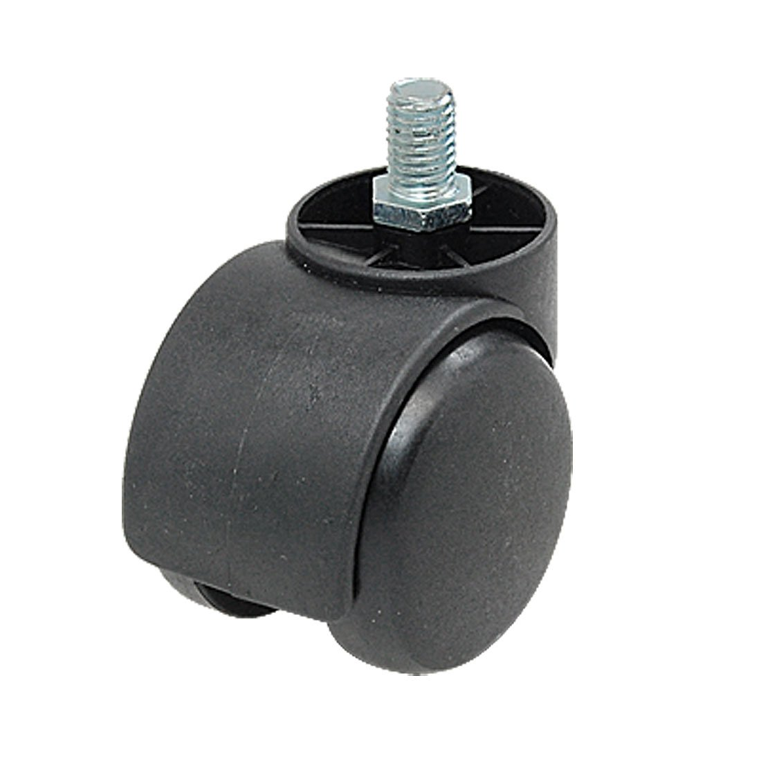 chair casters threaded stem cover hire stratford upon avon 2016 new connector twin wheel black