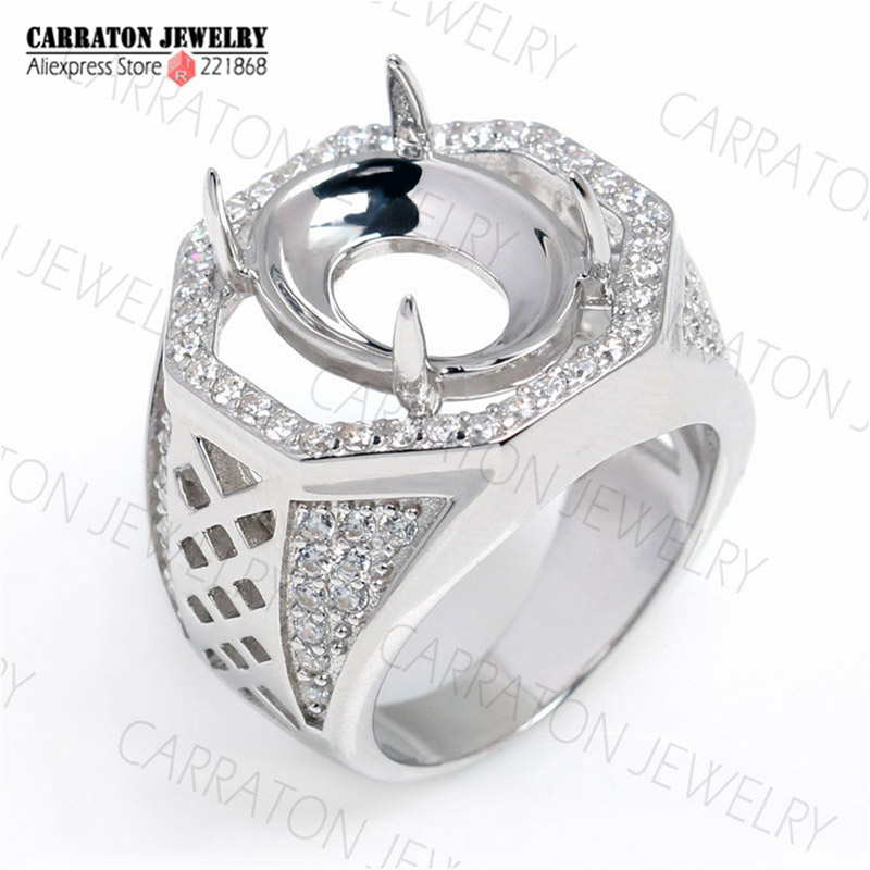 RSHC3007 Genuine 925 Sterling Silver High Quality Big Men\'s Ring ...