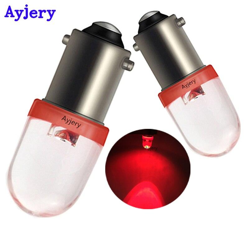 AYJERY 6V 6 3V 500PCS BA9S T4W T11 1 SMD F8 1 LED Light Bulb Convex