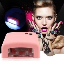 1pcs 36w led lamp nail Nail Art UV Gel Manicure Lamp Bulbs Dryer Glitter Polish Curing Tips Set Kit uv lamp Hot Fashion