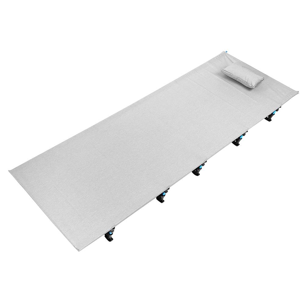 Outdoor Camping Mat Portable Sleeping Bed Folding Aluminum Alloy Tent Sleeping Bed Anti-Rust Camping Mat