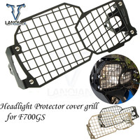 Motorcycle accessories motorcycle Headlight Protector cover grill Guard Cover for BMW F700GS 2012 2013 2014 2015 2016 2017 2018