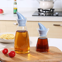 Kitchen tool Leak proof glass splash spout oiler lecythus fashion oil bottle 7*19cm free shipping