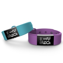 Style Bracelet 0.71 inch LCD Display screen Sensible Sports activities Step Rely Coronary heart Price Monitor Blood Stress Health Tracker