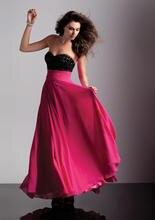 2015 verkauf Natürliche Elegante Neue A-line Liebsten Chiffon Abendkleid Bodenlangen Backless Abend-formale Kleid Pailletten Falten F878