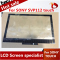 Оригинальный сенсорный экран для Sony Vaio Pro SVP112 SVP112A сенсорный экран планшета замена панель