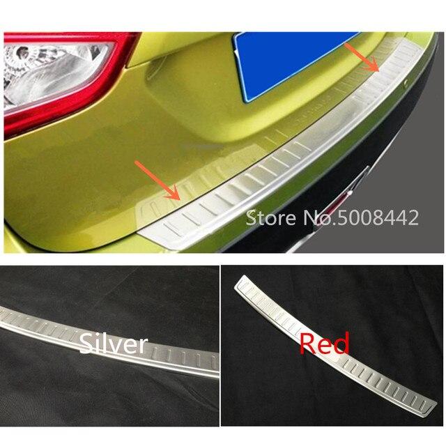 עבור סוזוקי S צלב scross SX4 2014 2015 2016 2017 רכב חיצוני אחורי פגוש הגנת trim רכב סטיילינג כיסוי צלחת דוושת 1pcs